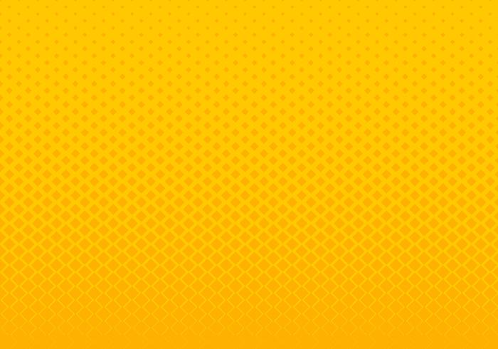 Abstract gradient yellow squares pattern halftone horizontal background pop art style. You can use for Design elements presentation, banner web, brochure, poster, leaflet, flyer, etc