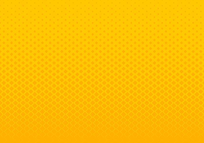 Stile astratto di semitono di Pop art del fondo dei quadrati gialli astratti del modello di pendenza. È possibile utilizzare per la presentazione di elementi di design, banner web, brochure, poster, volantini, volantini, ecc