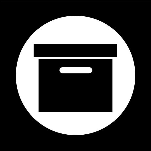 Icône de boîte