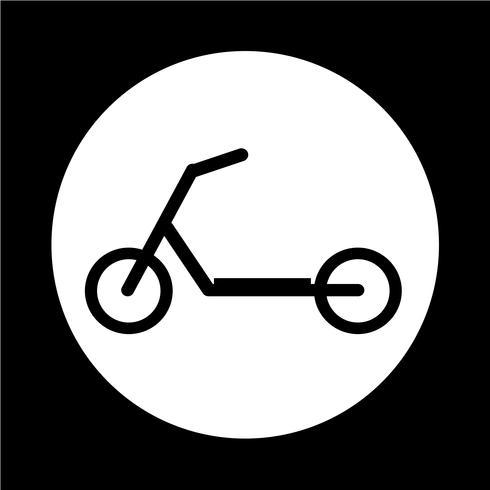 Roller Kinder-Symbol