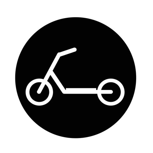 scooter children icon