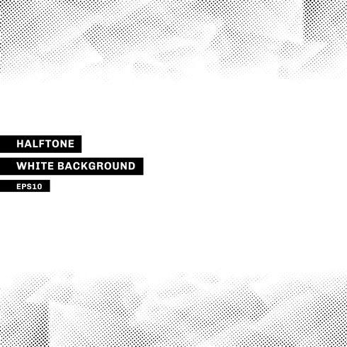 Astratto mezzitoni modello low poly alla moda sfondo bianco con copia spazio. È possibile utilizzare per sito Web, brochure, flyer, copertina, banner, ecc