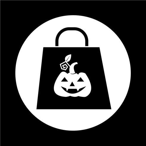 Icono de calabaza de halloween