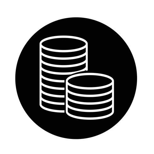 pengar ikon vektor