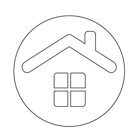 hus ikon