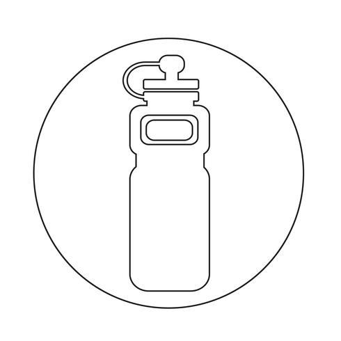 Sport-Wasserflasche-Symbol
