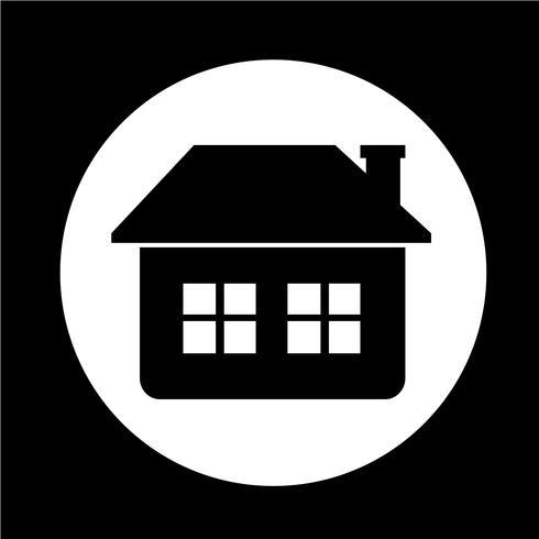 Fastighetshus ikon