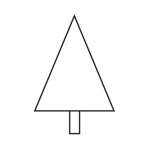 Icône de l'arbre de Noël