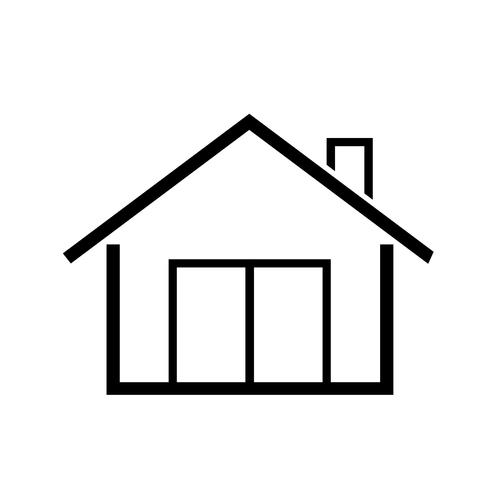 symbole simple icône maison