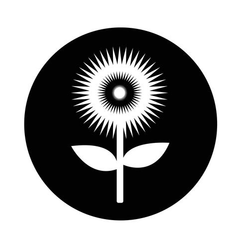 Ícone de flor