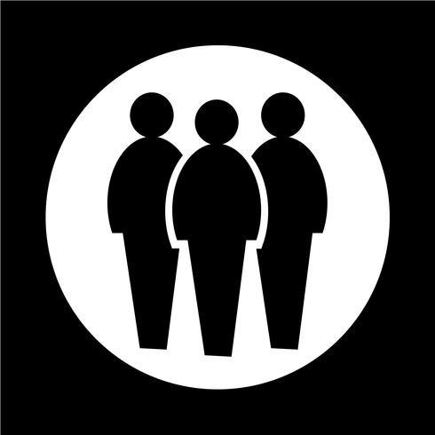 icône de personnes