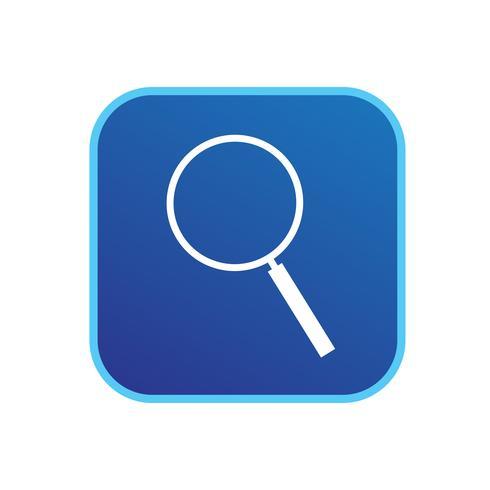 Sinal de ícone de pesquisa