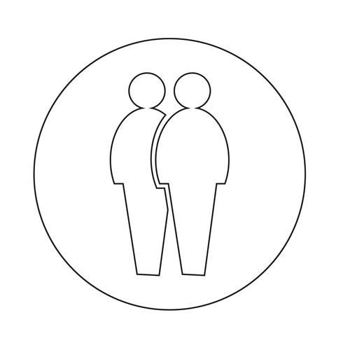 ícone de pessoas