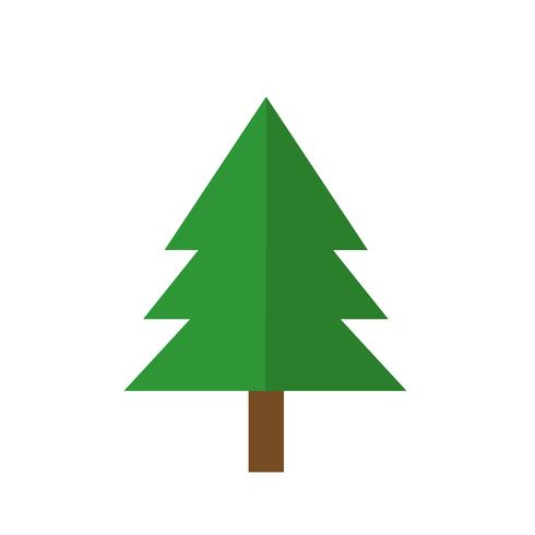 Kerstboom pictogram