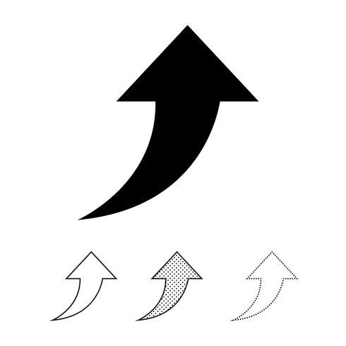Partager l'icône graphique deign vecteur