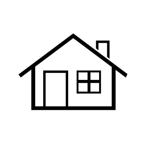 huis pictogram eenvoudig symbool