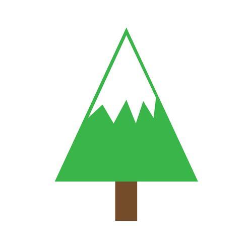 Kerstboom pictogram