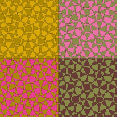 zwei Ton Mod abstrakte Vektormuster