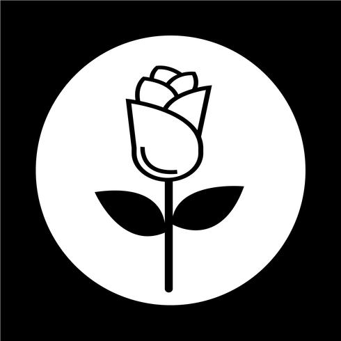 icona rosa