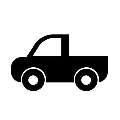 auto pictogram teken