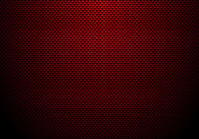 Red Carbon Fiber Background And Texture With Lighting