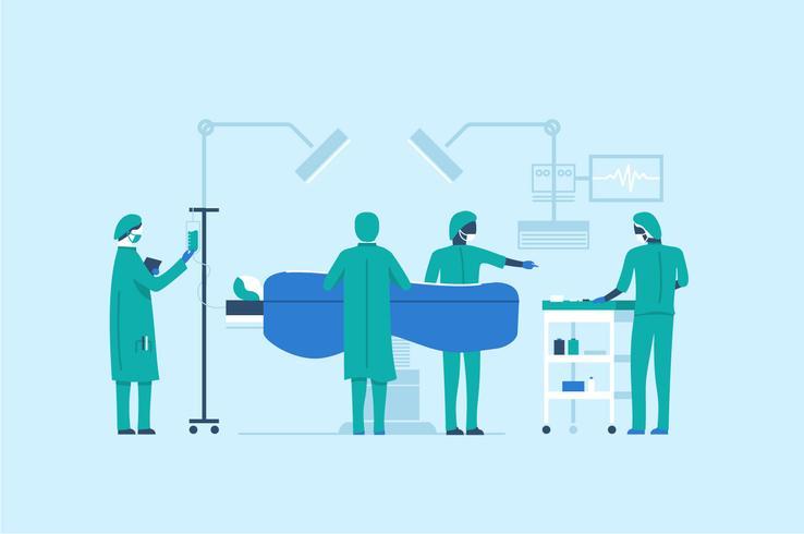 Profession people group team illustration