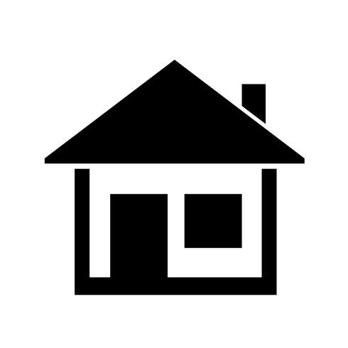 home icon simple  symbol