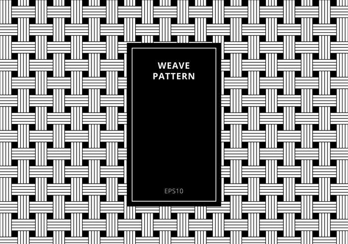 Fondo in bianco e nero senza cuciture geometrico del modello di tessuto. Struttura elegante moderna geometrica a strisce astratta. vettore