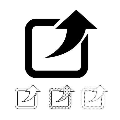 Condividi il logo dell'icona