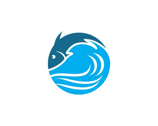 Peixe, logotipo, modelo