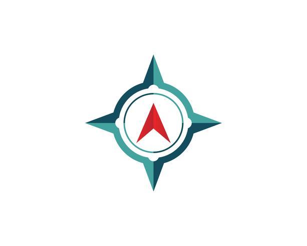 Compass Logo Template vector design illustration icône