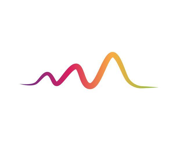 Illustration vectorielle d'ondes sonores