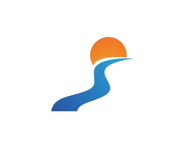 Rio icon ilustração vetorial