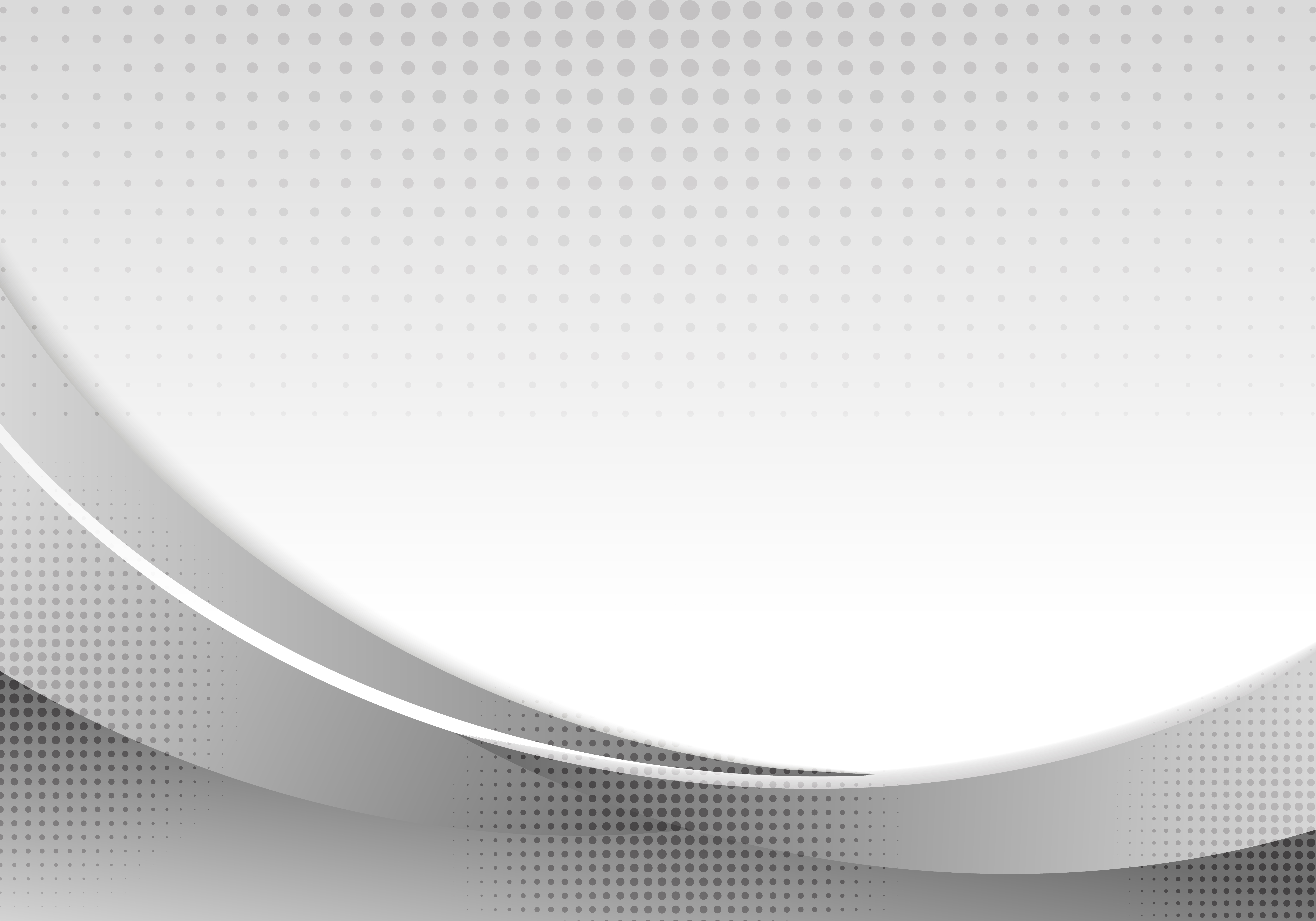 Vector Illustration Web Designs: Abstract Gray Waves Or Curved Professional Business Design