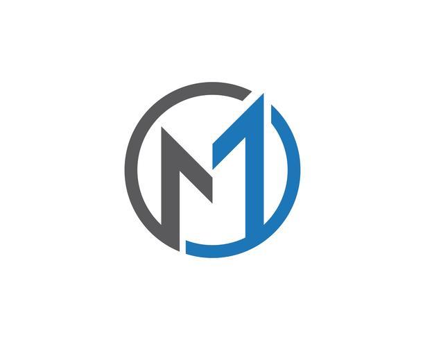 Modello di lettera Logo M