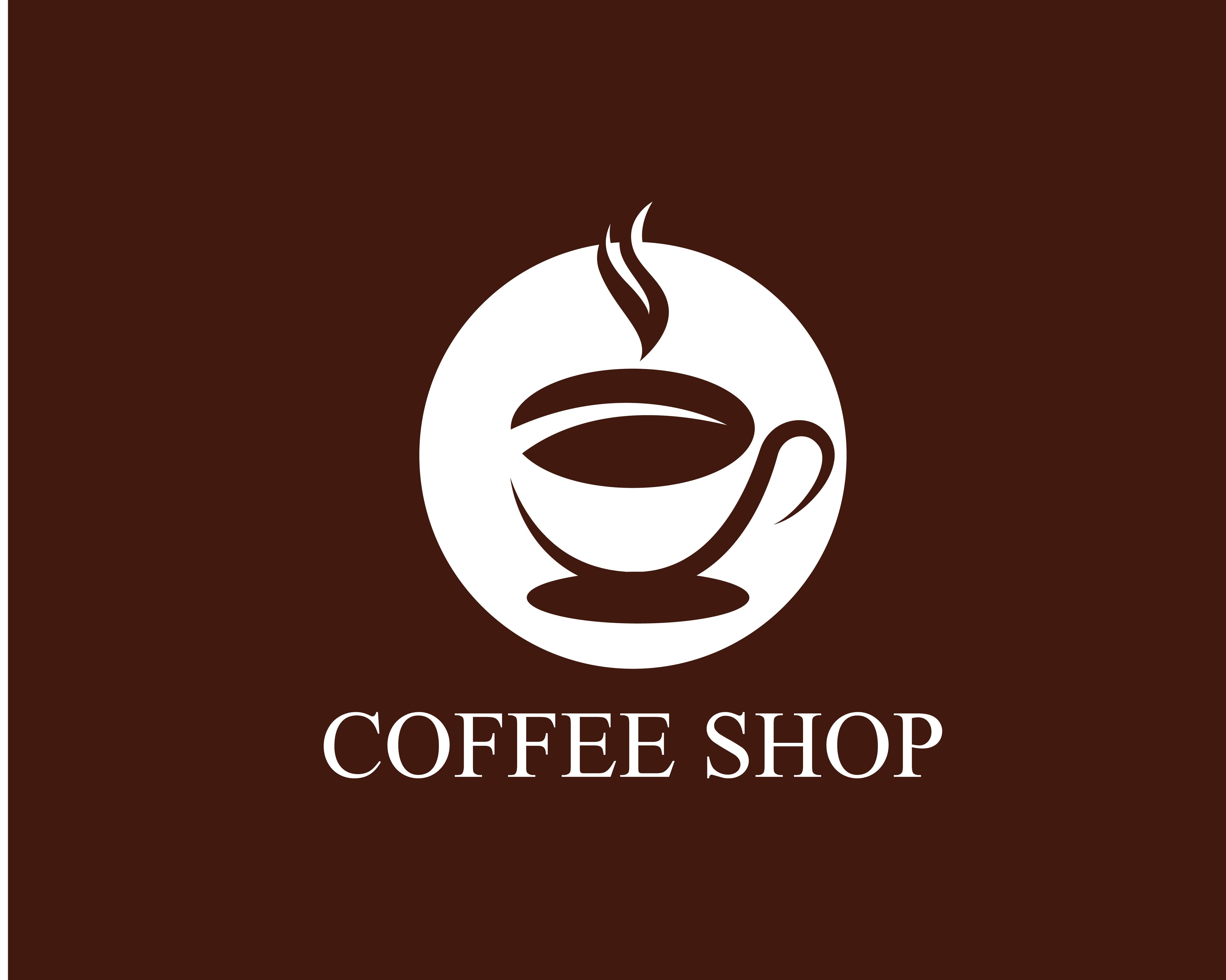 Coffee cup Logo Template - Download Free Vectors, Clipart ...