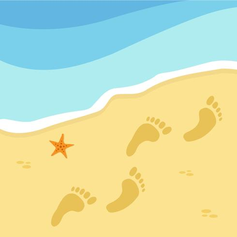 Zomertijd en strand