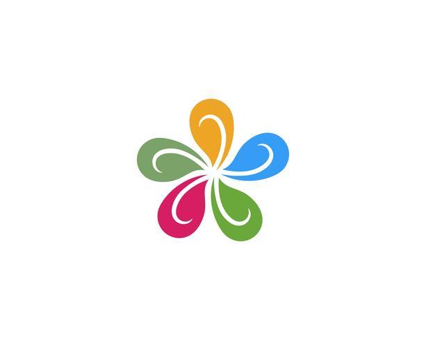 flower vector icon design