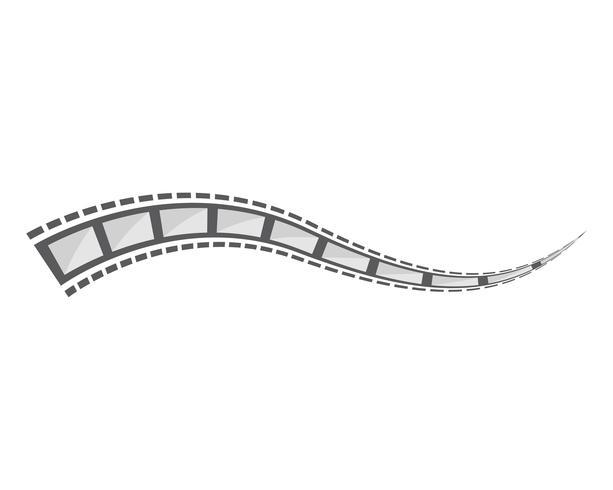 disegni dell'illustrazione del modello di vettore della pellicola