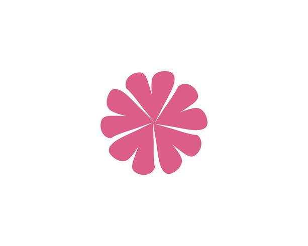 diseño de icono de vector de flor