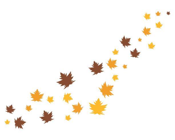 icônes vectorielles de feuille automne logo