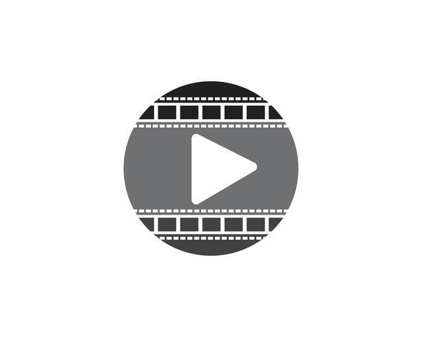 filmstrip vektor mall illustration mönster