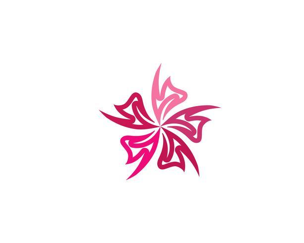 bloem vector pictogram ontwerp