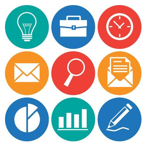 Zakelijke en Office-pictogrammen instellen