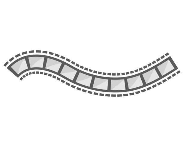 filmstrip vector template illustration designs