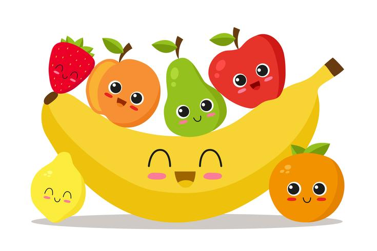 Koele fruitset