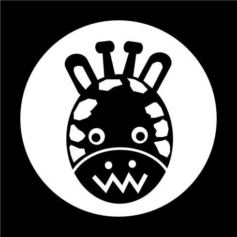 Icono de jirafa
