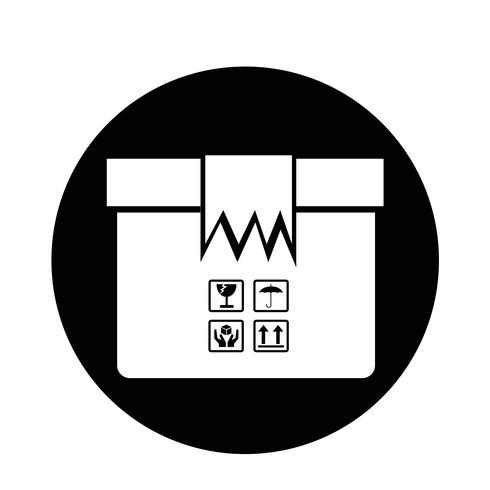 Ícone do pacote de caixa