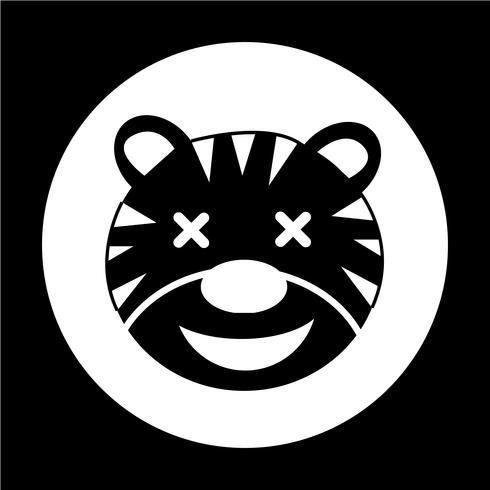 Icône de tigre