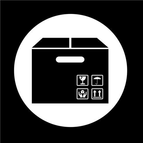 Icona del pacchetto della scatola